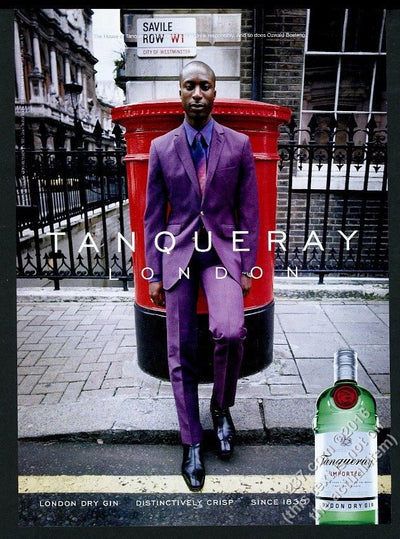 Ozwald Boateng Tanqueray Gin, 2000