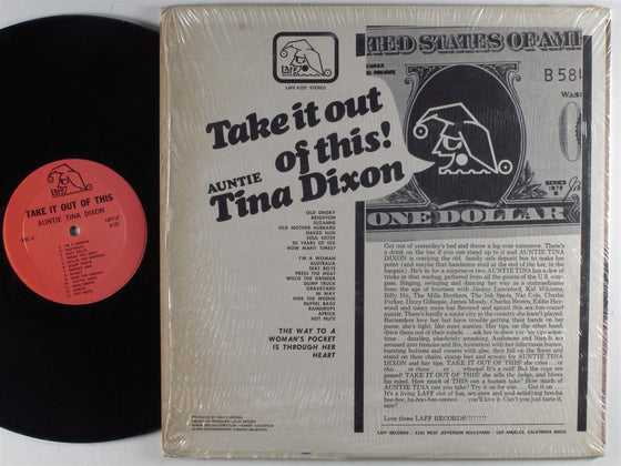 Auntie Tina Dixon: Take It Out Of This, Vinyl LP