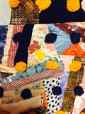 Pleasant Grove Crazy Quilt, 20th century
