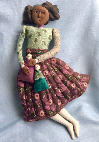 Needle Sculpted/Quilted Doll