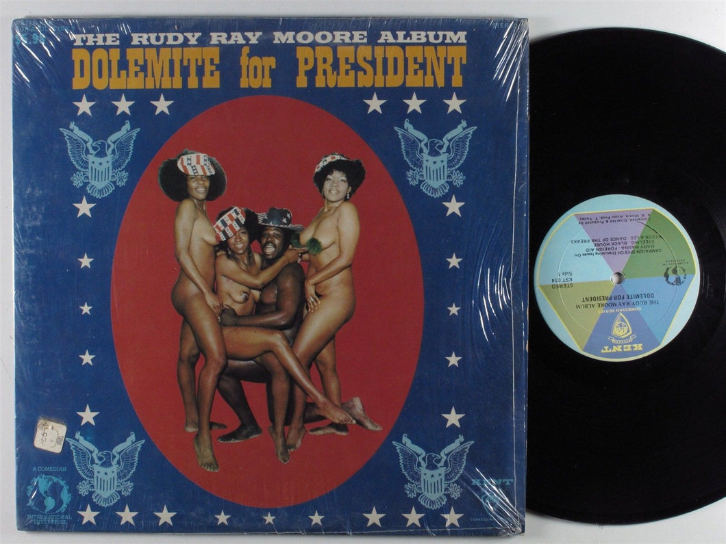 The RUDY RAY MOORE Album: Dolemite For President