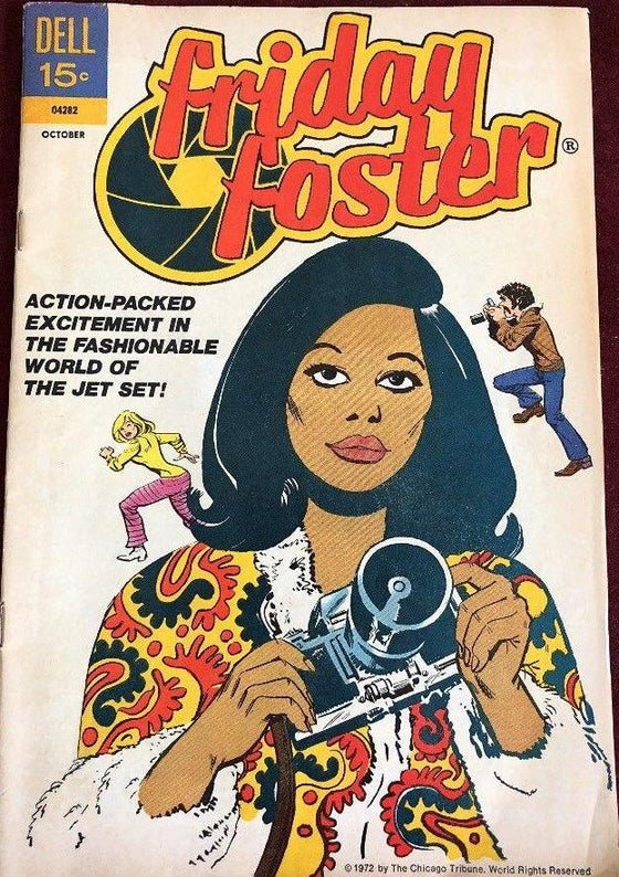 Friday Foster comic book #1, 1972