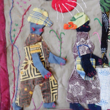 Narrative Story Quilt by M. Johwa