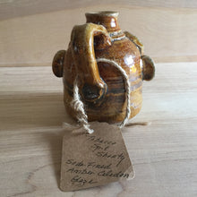 Tobacco Spit Shorty Jug by The Black Potter