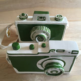 Hand-carved Camera by Mr. Somebody and Mr. Nobody
