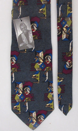James Vann silk necktie