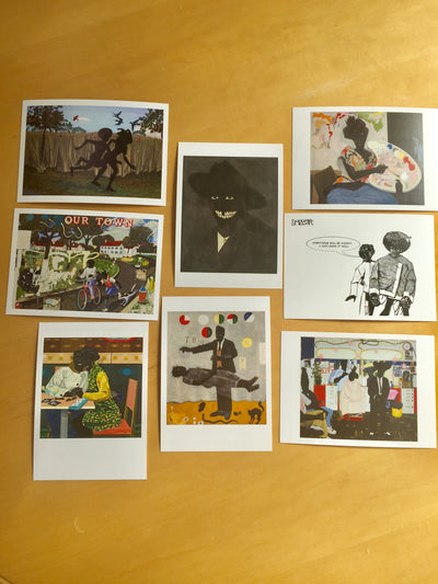 Kerry James Marshall Mastry postcards
