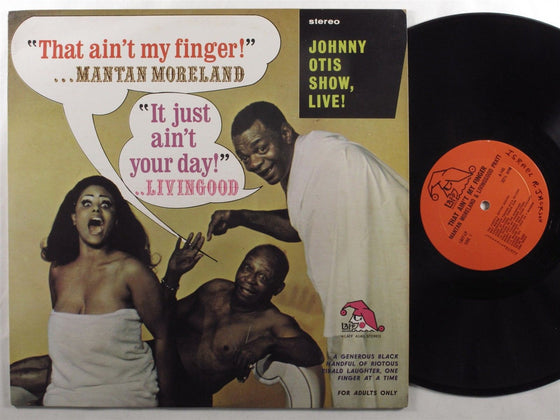 Mantan Moreland & Livingood: That Ain't My Finger! Vinyl LP