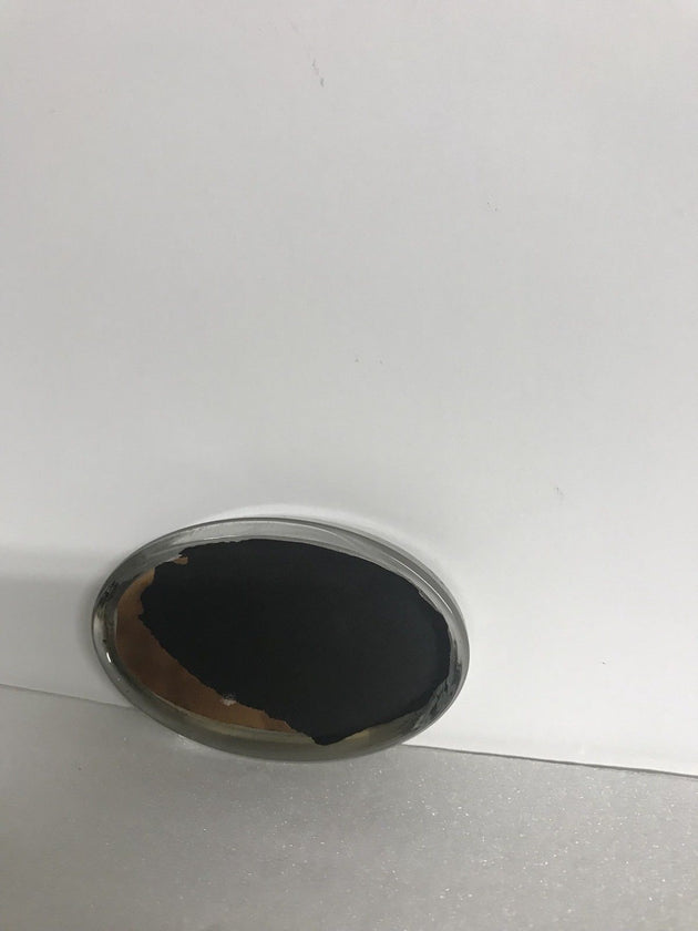 Oval Glass Photo Paperweight
