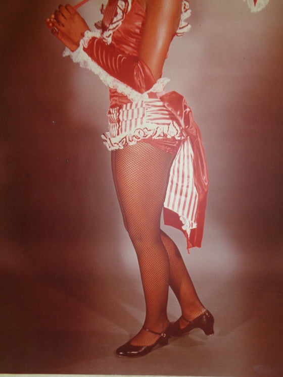 Tap Dancer Pin-Up poster