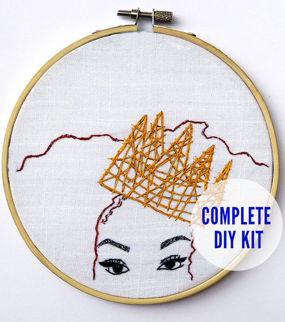 Create the Culture DIY Embroidery Kit