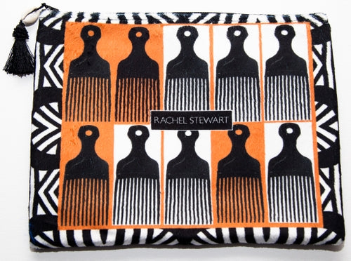 Rachel Stewart Angela Davis Clutch/iPad Case