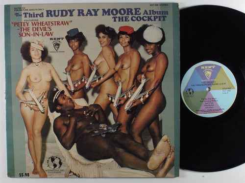 The Third RUDY RAY MOORE Album: The Cockpit