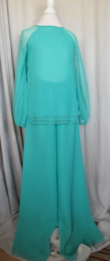 Chiffon Pantsuit by Stephen Burrows