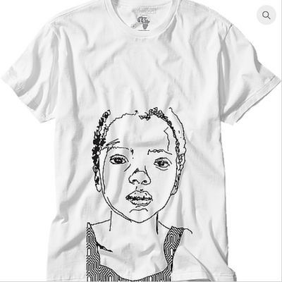 William Okpo x Randy Antonia Lott T-shirt (Agnes)