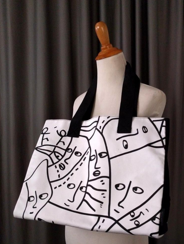 Shantell Martin Canvas Tote Bag