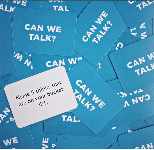 Can We Talk? cards by Amber L. Wright