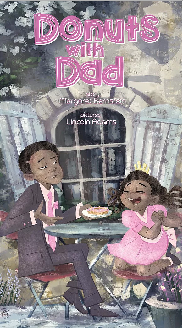 Donuts with Dad by Margaret Bernstein