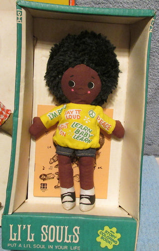 Wilky Li'l Souls Doll by Shindana Toys