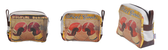 Feel Good Boxing Men's Toiletry Bag by Ed Suter