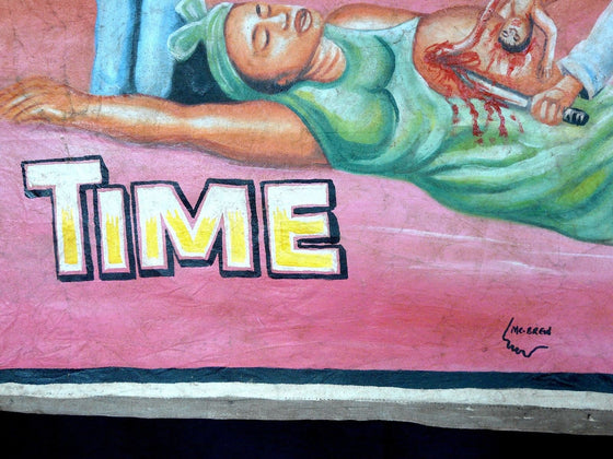 Time Movie Poster by Mr. Brew, Ghana