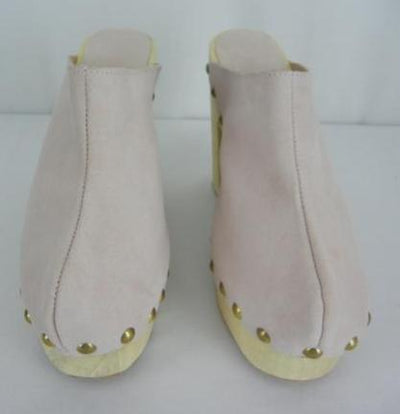 Brother Vellies Dusty Rose Platform Clogs