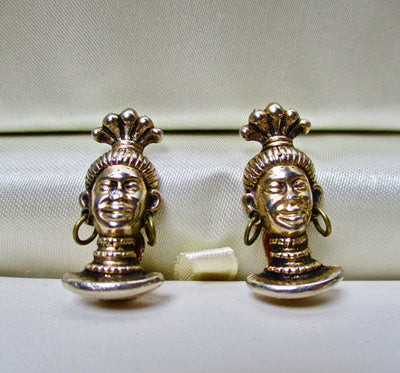 Blackamoor Clip Earrings