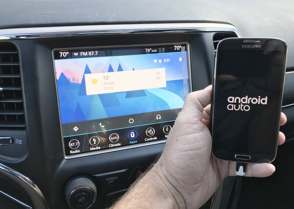 Android Auto Jeep Grand Cherokee Premium Android