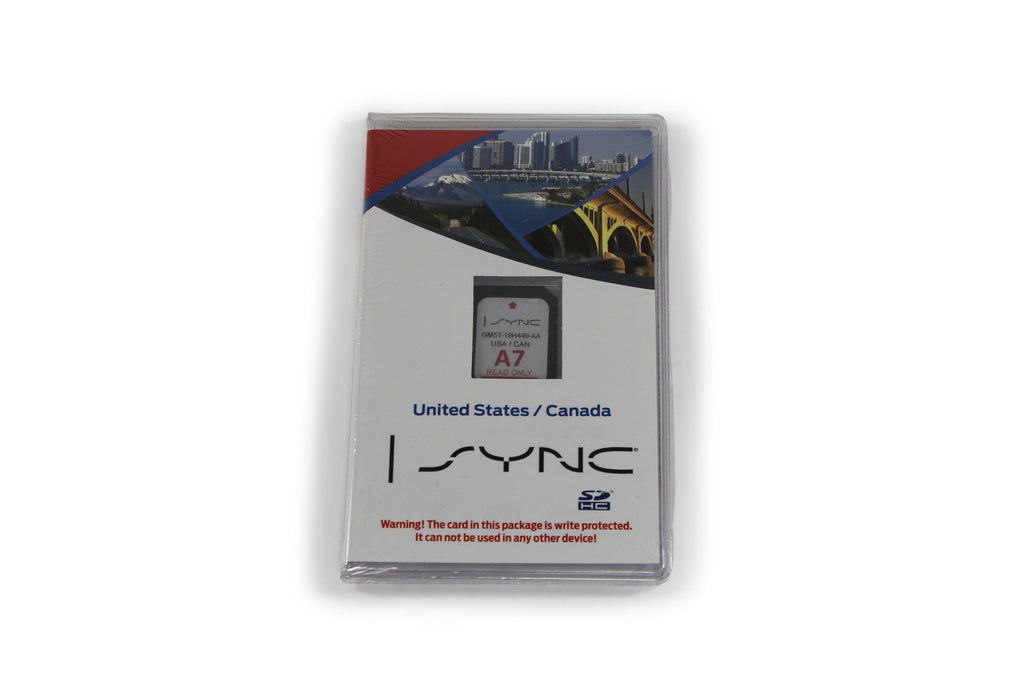 Myford Touch Sync  Gps Navigation A Map Update Sd Card