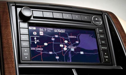 2008 ford expedition factory navigation system