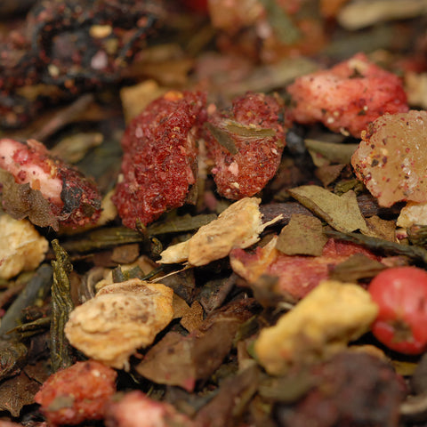 Buy Strawberry Ginger Peppercorn Online White Tea | Tea Blendz