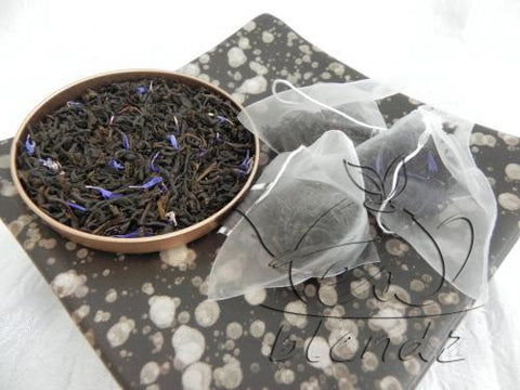 Tea Blendz, Cream Earl Grey, flavoured black pyramid bag, tea blend
