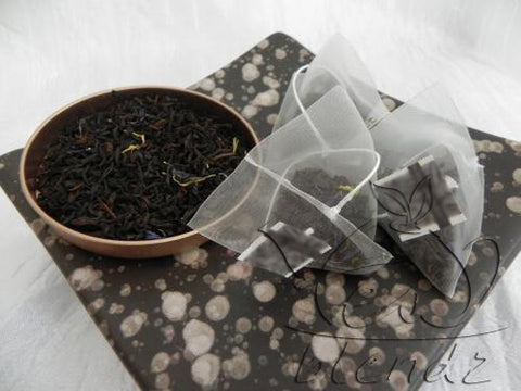 Tea Blendz, Earl Grey, Flavoured black pyramid tea bag, tea blend
