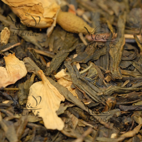 Tea Blendz, Fiery Cinnamon, flavoured green tea blend