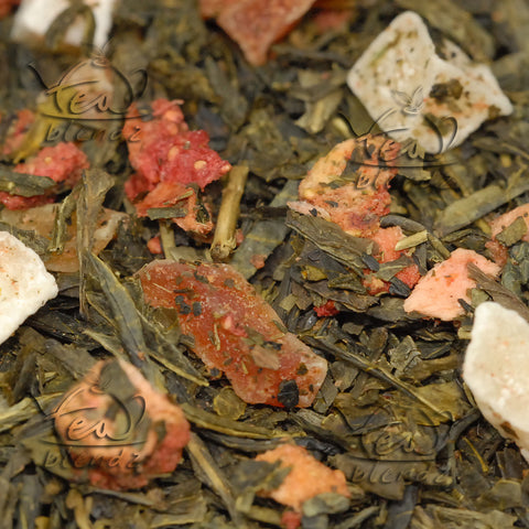Buy Touch of Strawberry Online Green Tea | Tea Blendz