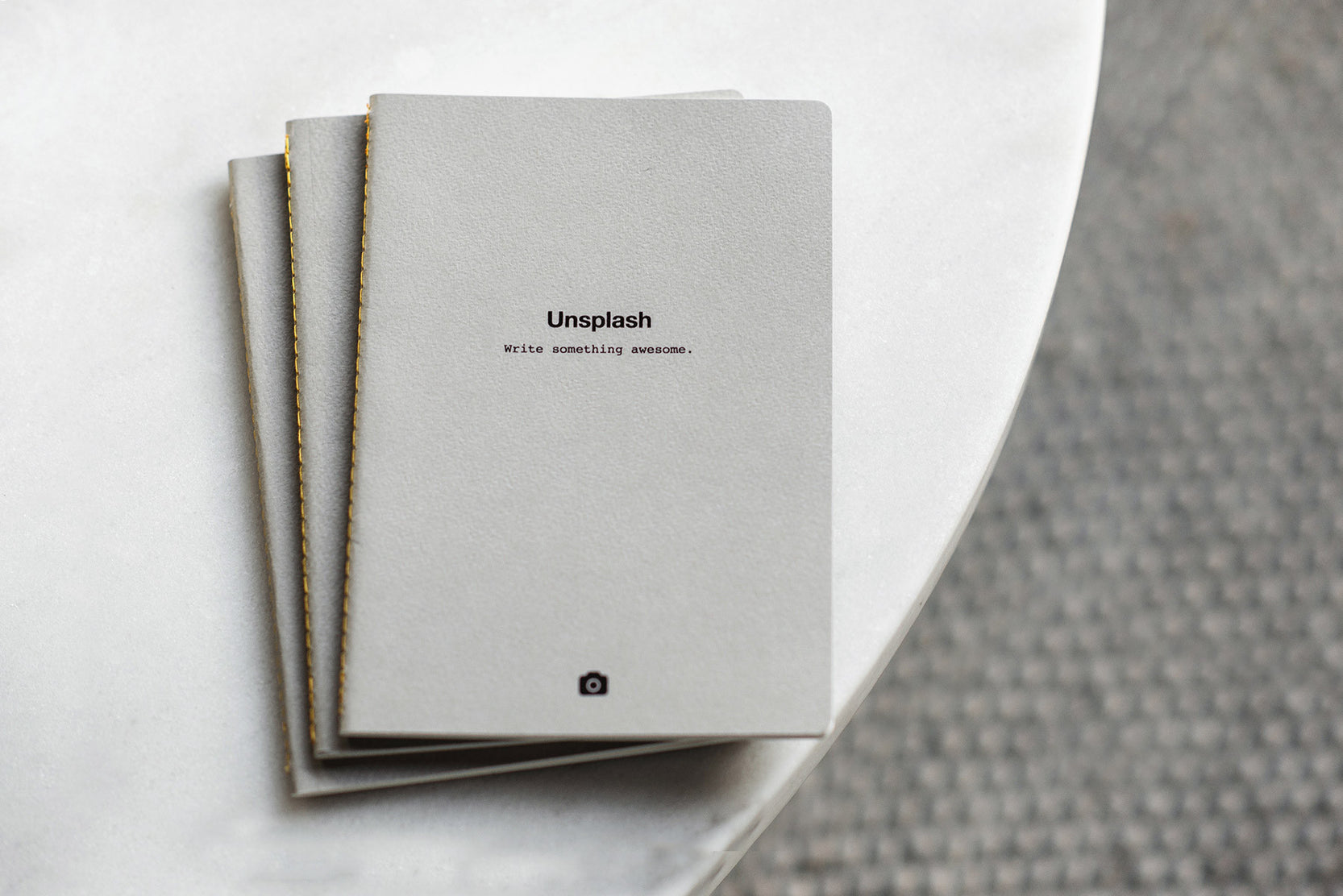 Unsplash Notebook