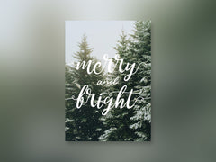 Unsplash Holiday Card - Merry and Bright