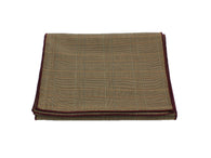Sand Glen Plaid Wool Scarf - Fine And Dandy