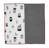 Salty Sailor Panelled Pocket Square