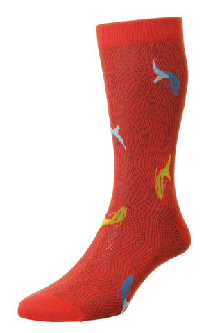 Koi Pantherella Socks - Fine And Dandy