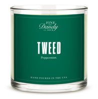 Tweed Candle