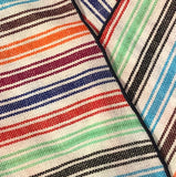 Candy Striped Cotton Neckerchief
