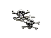 Skull & Crossbones Cufflinks - Fine and Dandy