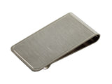 Silver Brushed Money Clip - Fine and Dandy