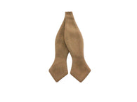 Camel Wool Bow Tie - Fine and Dandy