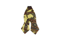 Champagne Paisley Silk Bow Tie - Fine and Dandy