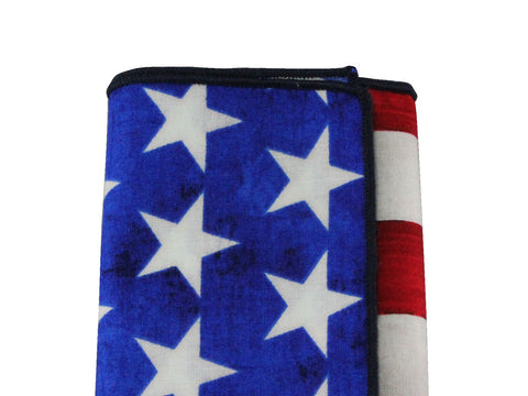 Stars & Stripes Panelled Pocket Square - Fine and Dandy