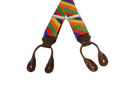 Carnival Grosgrain Suspenders - Fine and Dandy