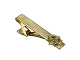 Gold Captain's Wheel Tie Bar - Fine and Dandy