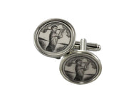 Golfer Cufflinks - Fine and Dandy